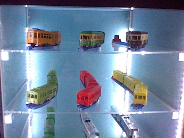 プラレールの展示