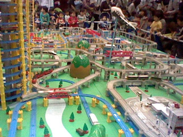 プラレール博2012の巨大ジオラマ