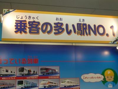 乗客の多い駅NO.1