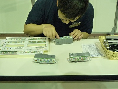 プラレール博2012のショッピングゾーン プラレールファクトリー